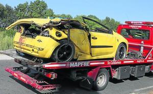 Fallecen cuatro jóvenes en un accidente de tráfico en Salamanca