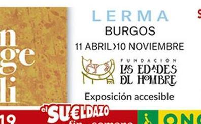 Las Edades del Hombre de la localidad burgalesa de Lerma protagonizan el cupón de la ONCE