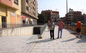 Concluyen las obras de la plaza de la Puentica en Zamora