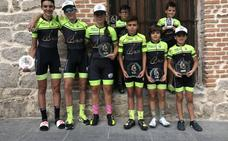 La Escuela de Ciclismo Bejarana destaca en El Espinar