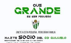 El CD Guijuelo lanza su nueva campaña de socios 2019-2020 bajo el lema 'Qué grande es ser pequeño'