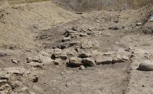 Hallado un telar en una excavación arqueológica en Herrera del Pisuerga datado entre el siglo I y V
