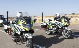 Fallece un motorista de Palencia de 28 años en el puerto del Escudo