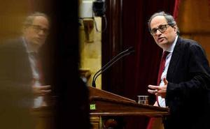 El proceso constituyente de Torra encalla por la división independentista