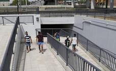 El túnel de Los Tres Pasos se abre a los peatones tras cuatro meses de obras