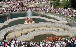 El Real Sitio excluye la fuente de La Selva de los juegos de agua de este jueves