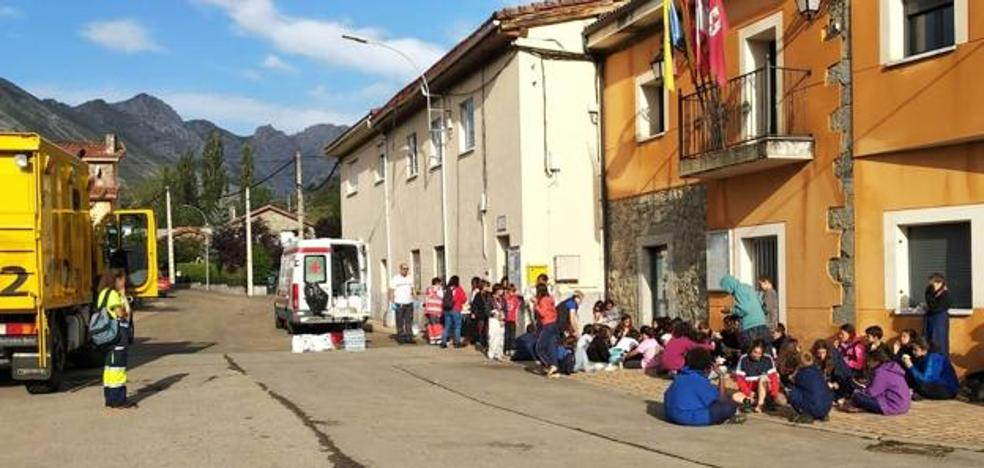 Evacúan a 210 scouts madrileños acampados en León por las intensas lluvias y fuertes rachas de viento