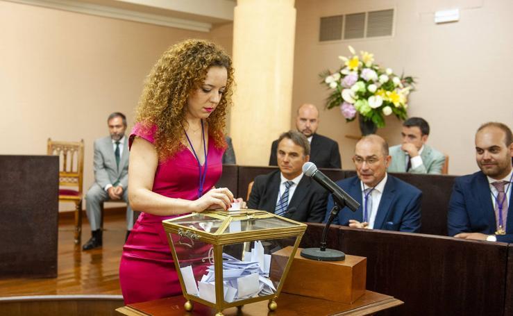 Pleno de constitución de la Diputación (2)