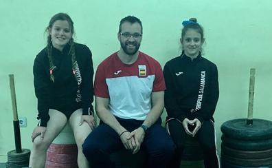 Las hermanas salmantinas García Rincón, a la Copa de España Promesas de halterofilia
