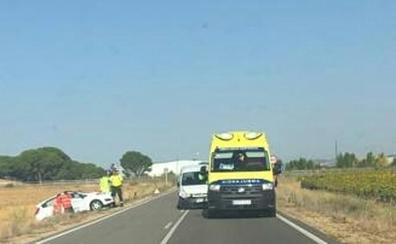 Dos vehículos colisionan en Traspinedo