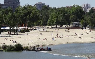 Moviliza a los Bomberos por un bañista en el río Pisuerga a la altura de Valladolid