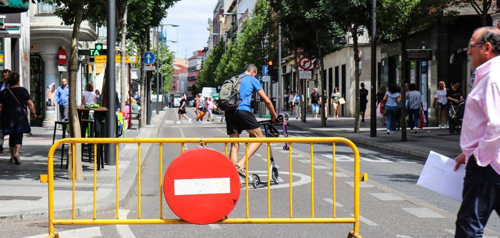 El nivel de ozono baja y permite reabrir el centro de Valladolid al tráfico