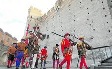 La captura de un rebelde comunero se suma a las recreaciones de Medina