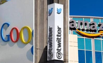 Amazon, Google y Twitter disparan sus beneficios pese a la vigilancia de los reguladores