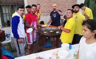 Batucada, toros y verbena para la penúltima jornada de fiestas en Alcazarén
