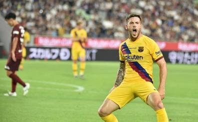 Barcelona gana 2-0 al Vissel Kobe con una gran actuación del canterano Carles Pérez