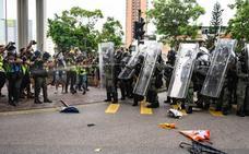 Nuevos enfrentamientos entre los manifestantes de Hong Kong y la Policía