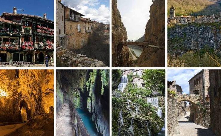Ocho lugares escondidos de España