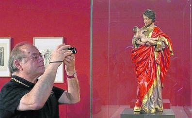 El Museo de Escultura amplía sus fondos con una talla de San José de Pedro de Mena