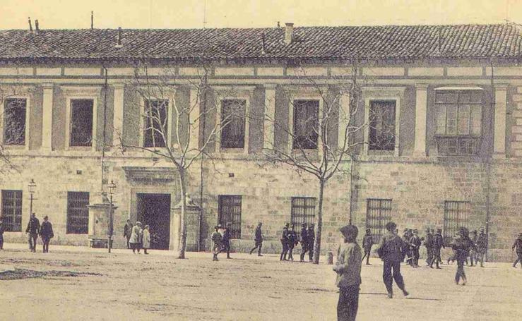 Estampas del Valladolid antiguo (XI): la antigua Academia de Caballería