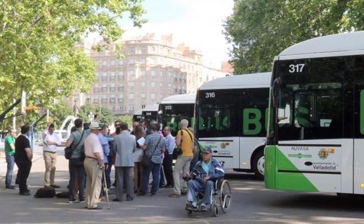Así son los seis nuevos autobuses que circularán por Valladolid