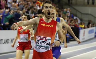Álvaro de Arriba, con España al Campeonato de Europa por Selecciones Nacionales