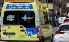 Tres heridos en la colisión entre dos turismos en Benavente, Zamora
