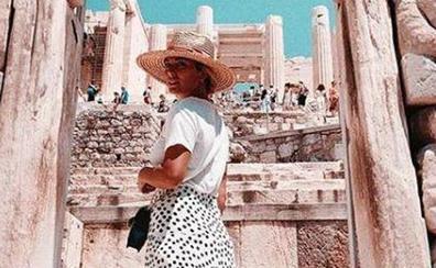 Blanca Suárez y Mario Casas, de vacaciones en Atenas