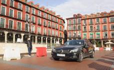 Los coches podrán acceder desde el lunes al aparcamiento de la Plaza Mayor de Valladolid