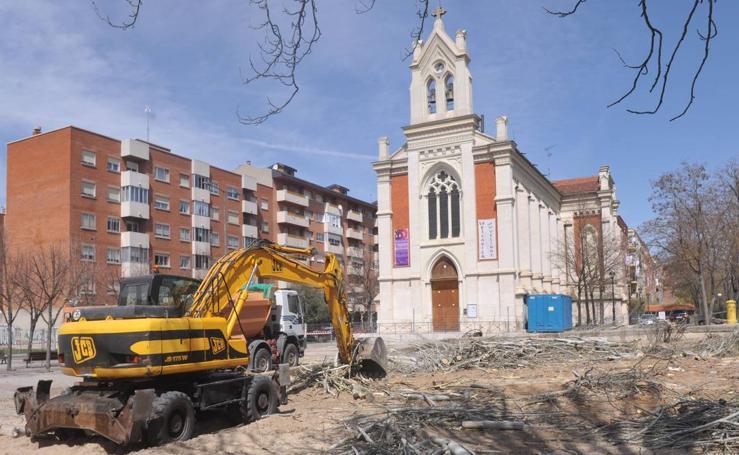 Cronología de las obras de la plaza Rafael Cano, en Pilarica