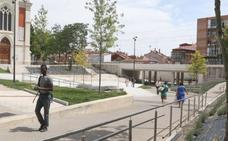 Valladolid estudia el cierre del viejo túnel peatonal de Pilarica una vez terminada la obra de Rafael Cano