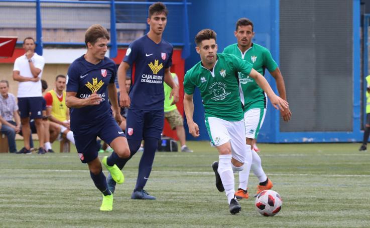 El Santa Marta sorprende al CD Guijuelo 2-0