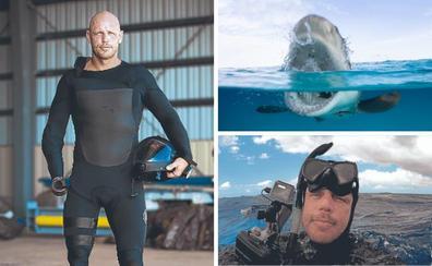 El exmilitar que perdió un brazo y una pierna por un ataque de tiburón
