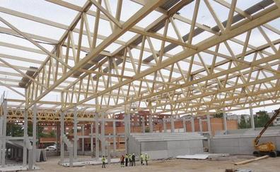 El nuevo polideportivo de Delicias en Valladolid estará listo antes de que acabe el año