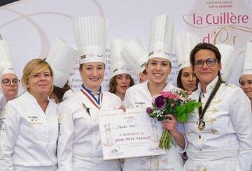 Llega a España el prestigioso concurso francés para cocineras La Cuchara de Oro