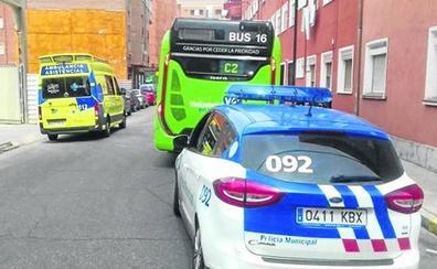 Sufre un paro cardíaco en un autobús urbano de Valladolid