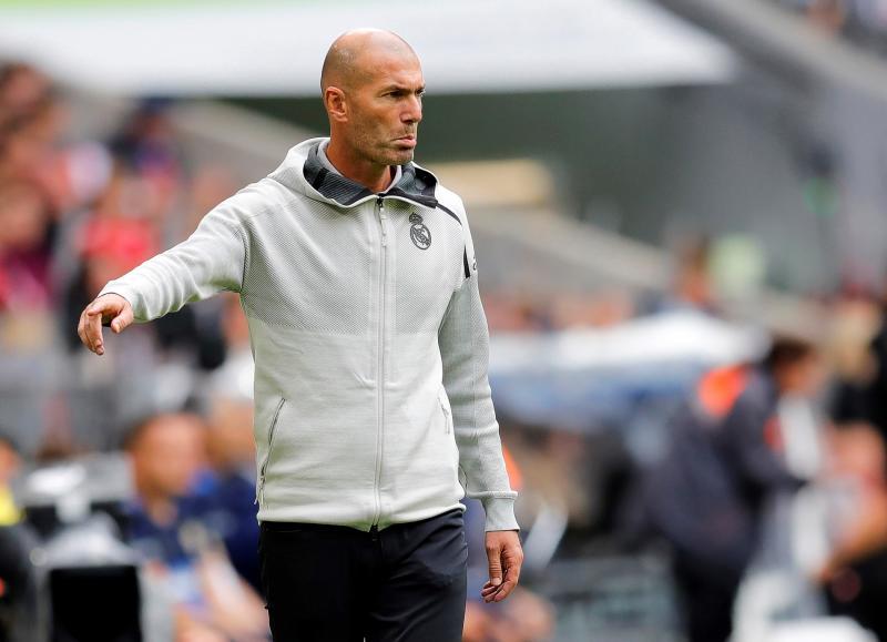Zidane, sobre Bale: «Cada uno tiene sus responsabilidades»