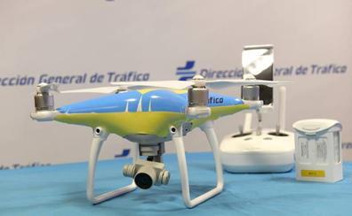 Castilla y León, Asturias y Cantabria compartirán el mismo dron de la DGT