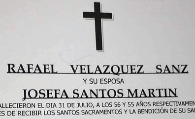 Funeral conjunto de Josefa y su marido y asesino Rafael