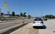 'Cazan' a un conductor portugués en Salamanca circulando a 228 km/h