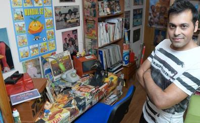 El vallisoletano que más sabe de 'La Tele de los 70'