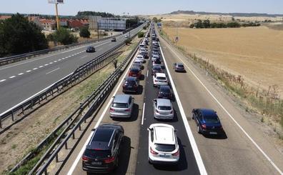 Otra colisión múltiple en Simancas colapsa la A-62 desde Valladolid
