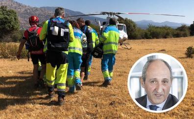 Muere un ciclista vallisoletano a las 24 horas de ser rescatado en Madrid