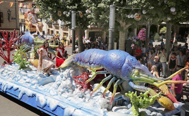 Herrera de Pisuerga disfruta del Festival del Cangrejo