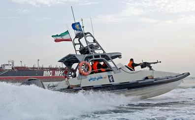 Irán incauta un petrolero de bandera extranjera en el golfo Pérsico