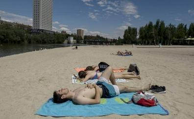 Las Moreras es la única playa fluvial de la provincia de Valladolid autorizada para el baño