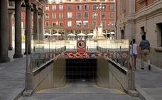 La Plaza Mayor de Valladolid recupera este lunes el aparcamiento después de nueve meses de obras