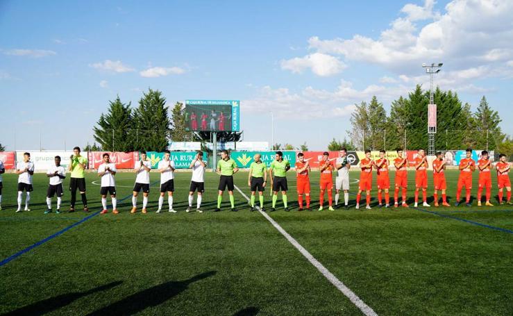 El Salamanca CF UDS vence al Santa Marta en su primer partido en España tras la gira mexicana