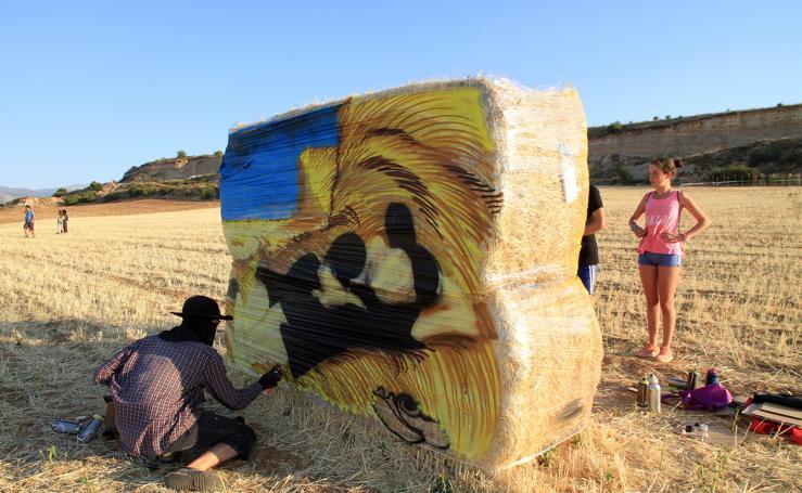 El arte urbano llega a los campos de Espirdo