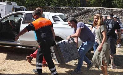 Las autoridades lo confirman: «Hay origen humano» detrás del incendio de La Granja